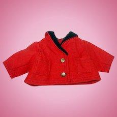 Effanbee PATSY Red Wool Jacket
