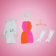 Vintage Barbie Fashion ~ #1491 Red White N Warm ~ All Original Complete!
