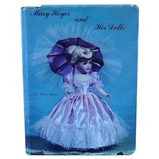 1982 MARY HOYER Doll HB Book ~ History, Patterns, Advertising