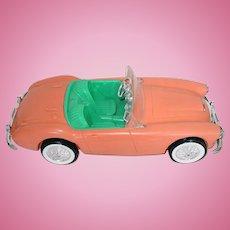 Vintage Barbie 1962 AUSTIN HEALEY Sports Car ~ Excellent Condition!
