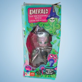 1972 Emerald the Enchanting Witch Doll ~ MIB