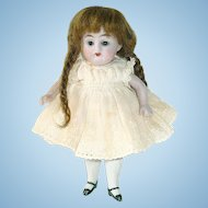 Antique KESTNER #160 All Bisque Doll 5.5""
