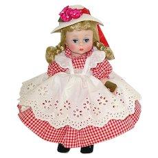 "Vintage Madame Alexander 8"" BKW AMERICAN GIRL Doll ~ MIB"