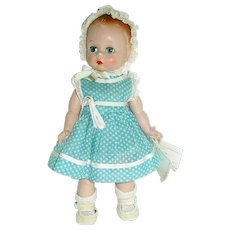 "Adorable 8"" Alexander 1953 QUIZ-KIN Doll ~ All Original W/Wrist Tag"