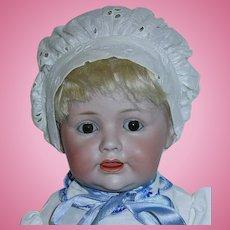 """16"""" Kestner 247 Hilda's Sister ~ Character Bisque Head German Baby Doll"""