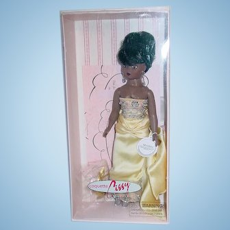 """Alexander 10"""" COQUETTE CISSY African American ~ MIB + Extra Outfit"""