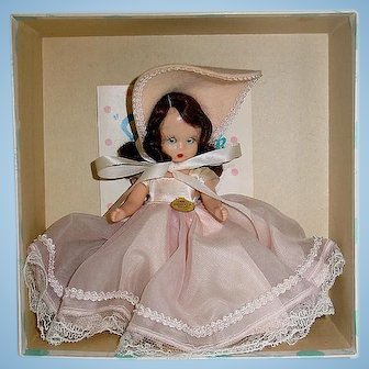 Nancy Ann Storybook #180 MONDAY'S CHILD ~ Hard Plastic W/Box