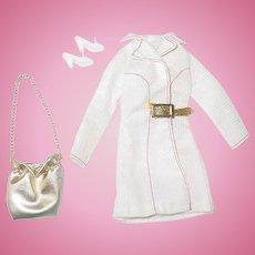 Mod Era Barbie Fashion ~ #3352 White N With It  ~ NMint/C