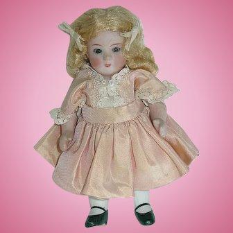 "Vintage 5 1/4"" All Bisque ABG ""Princess"" Doll"