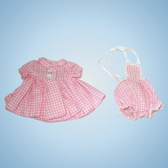"""Vintage 1950s Alexander 8"""" LITTLE GENIUS ~ Coat Dress & Sunsuit"""