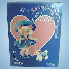 1984 Vogue Ginny Paper Dolls ~ Mint in Box