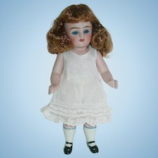 """Large 7"""" German All Bisque ~ Swivel Head #222 Doll"""