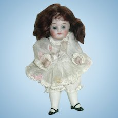 "5"" German All Bisque KESTNER Girl Doll #150"