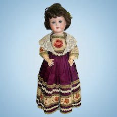 "16"" Antique German Bisque Head Doll ~ P3/0xM Trebor Germany"