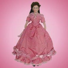 "Original 20"" Artist THELMA RESCH ~ Bisque Doll"