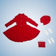 Vintage Skipper Outfit ~ #1906 DRESS COAT NMint/Complete