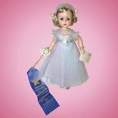 1956 Alexander LISSY Bridesmaid ~ Blue Tulle NMint W/Wrist Tag