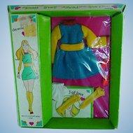 Mod Era Hasbro 1971 World of Love ~ Outfit ~ Multi-Color Mini