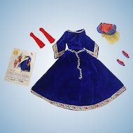 Vintage 1964 Barbie Fashion ~ #873 Little Theatre Costume ~ GUINEVERE M/C