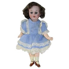 """Antique 6"""" German ~ Bisque Head Compo Body Doll 14/0"""