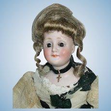 "11"" Antique German #172 Kestner ~ Gibson Girl Lady Doll"