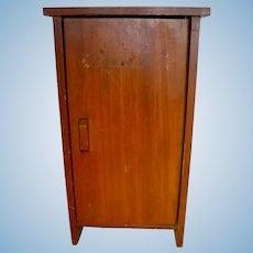 "Rare Vintage 16"" TERRI LEE ~ Wood Armoire Wardrobe"