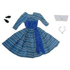 Vintage Barbie Fashion ~ #978 LET'S DANCE ~ Excellent & Complete
