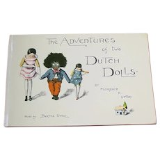 Book ~ The Adventures of Two Dutch Dolls By Florence & Bertha Upton ~ Golli & Peg Wooden