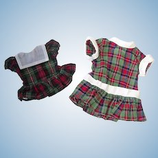 Vintage 1950s Terri Lee & Tiny Terri Lee Matching DRESSES