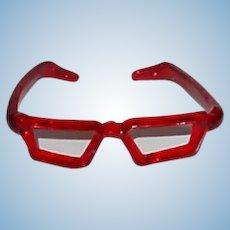 1950s Original Alexander-Kin ~ Red GLASSES