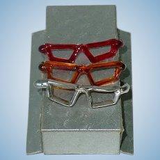 3 Pairs of 1950s Alexander-Kin GLASSES