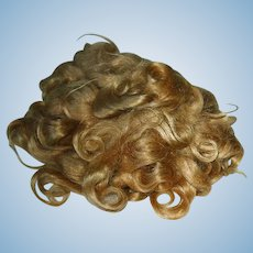 Original 1930s Shirley Temple ~ Mohair Wig