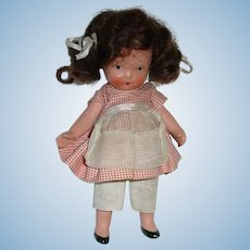 Nancy Ann Storybook ~ #117 Molded Sock ~ School Days