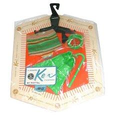 Vintage Ken Fashion ~ 1963 Snorkel Gear ~ MIP MOC