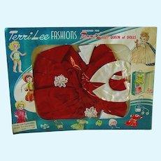 "Vintage 16"" Terri Lee Fashion ~ #3510 Terri Play Dress ~ MIP ~ 1950s"