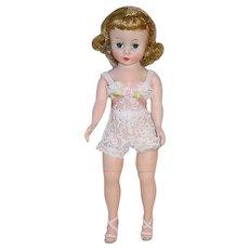 "Vintage Alexander 10"" CISSETTE ~ Blonde W/ Chemise, Heels & Nylons"
