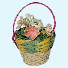 Vintage 1956 Alexander-Kin ~ FRENCH FLOWER Girl ~ Rare Basket