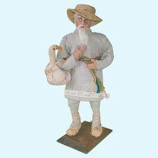 """Vintage 8.5"""" Polish Doll ~ Stockinette ~ Lowlands"""