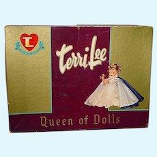 "Vintage 1950s 16"" TERRI LEE ~ Empty Box For Ballgown"