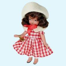 Nancy Ann Storybook Bisque Doll ~ #112 A Dillar A Dollar ~ FL ~ Mint