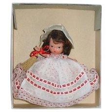 Nancy Ann Storybook  #185 Saturday ~ Bisque Pudgy JL