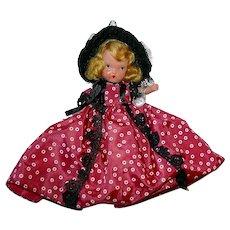 Nancy Ann Storybook Bisque Doll ~ #58 Western Miss ~ JL