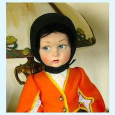 "17"" Antique Lenci Doll In Provincial Costume of Sardinia ~ Near Mint"
