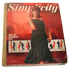 Vintage January 1965 SIMPLICITY ~ Counter Pattern Book ~ 1400+ Pages!