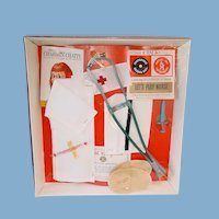 Vintage Mattel CHARMIN CHATTY Outfit ~ Let's Play Nurse ~ NRFB