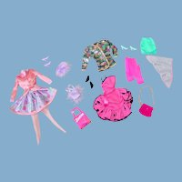Two Barbie ~ Fashion Ave. Outfits ~ Mint/Complete