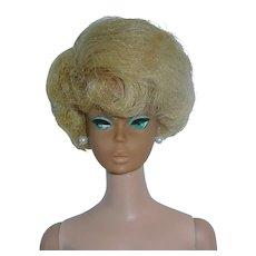 Original Platinum Blonde SIDE PART Bubble Cut Barbie on BL Body