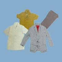 4 Vintage Ken Pak Pieces ~ Clothing