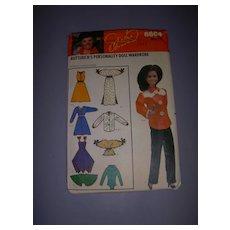 Vintage Butterick Doll Pattern for Marie Osmond & Barbie Dolls! - Red Tag Sale Item