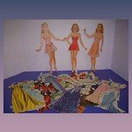 "Vintage 1941 Movie Star ""Alice Faye"" Paper Dolls!"